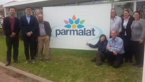 Chinese Auditor from AQSIQ visiting Parmalat Diary Processing Plant in Adelaide with Interpreter & Government Inspectors