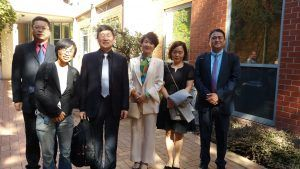 Delegates from Shenzhen Kangning Mental Health Hospital Visiting St. Vincent Hospital