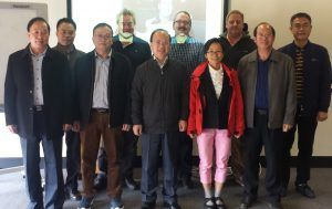 May assisting Victoria Fishery to host delegates from Guangdong China